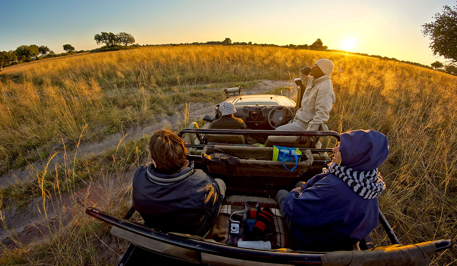 Safari to Vehicle Safari with Africa Travel Resource