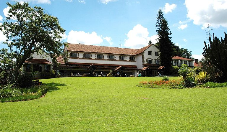 View at Outspan Hotel in Nyeri. Image Courtesy of Africa Travel Resource