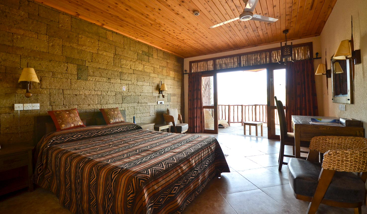 rooms at Samburu Simba Lodge